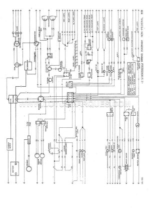 Lotus Elan2 S130 wiring diagram, DOM, alternator