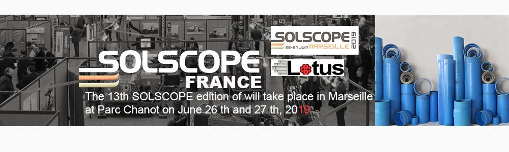 Solscope 26 – 27 June, 2019, MARSEILLE, Parc Chanot, France