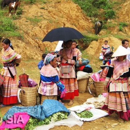 Sapa Can Cau Market Tour 1 Day