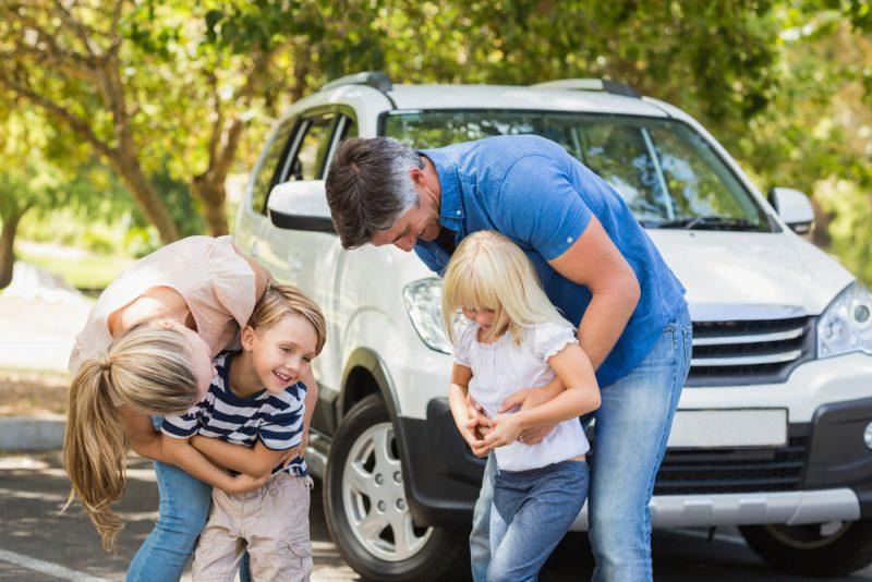Feestje bezoeken met je kinderen