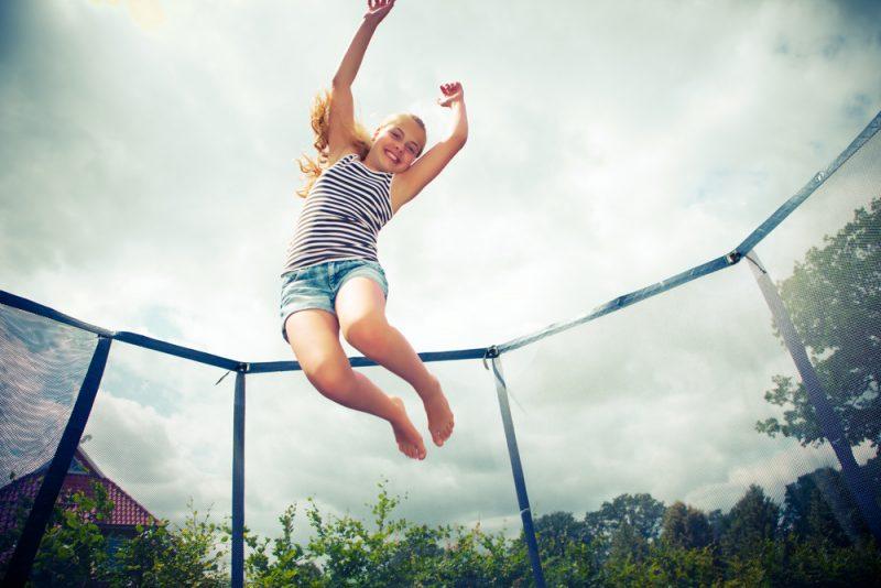 trampoline monteren fail