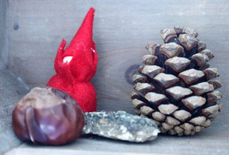 knutselen in herfstthema peuter kleuter