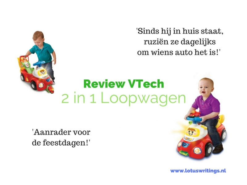 VTech 2 in 1 Loopwagen review