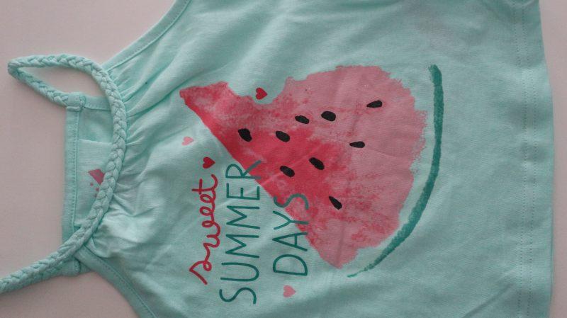 Primark shoplog watermeloen set peuter