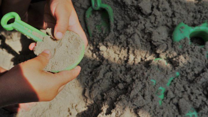 sensopathisch spelen zand