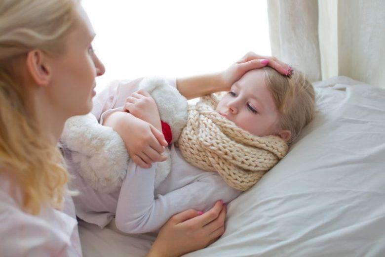 thuiswerken met zieke kinderen