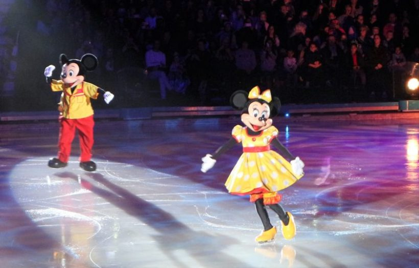 Disney on Ice 2017 Minnie Mickey