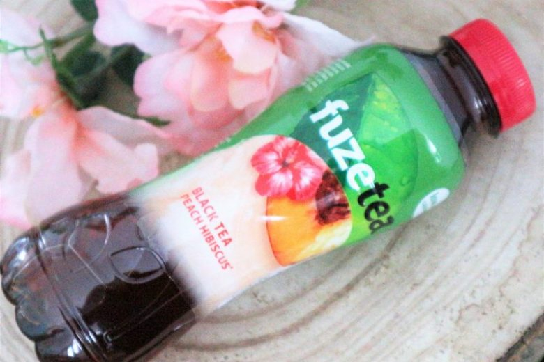 Fuze tea review Peach Hibiscus