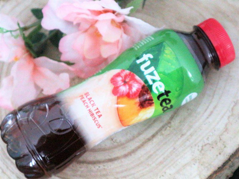 Fuze tea review Peach Hibiscus