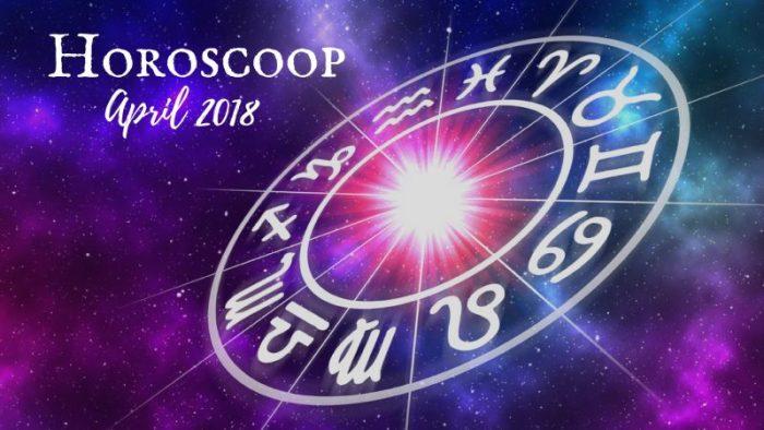 horoscoop april 2018