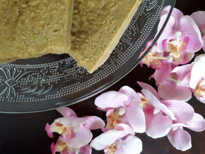 cake met matcha