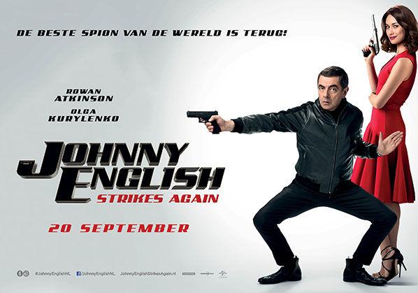 Johnny English Strikes again review