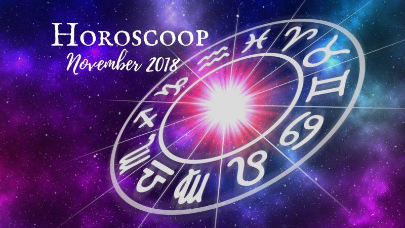 Horoscoop november 2018 steenbok waterman vissen ram stier tweeling kreeft leeuw maagd weegschaal schorpioen boogschutter