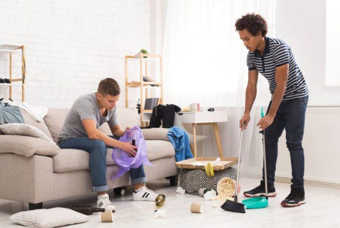 puber mee helpen huishouden klusjes