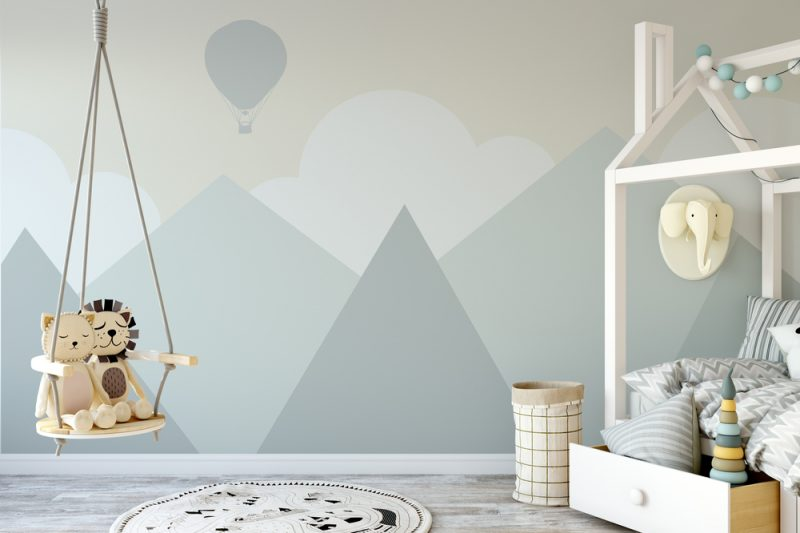 5 behang trends 2019 kinderkamer