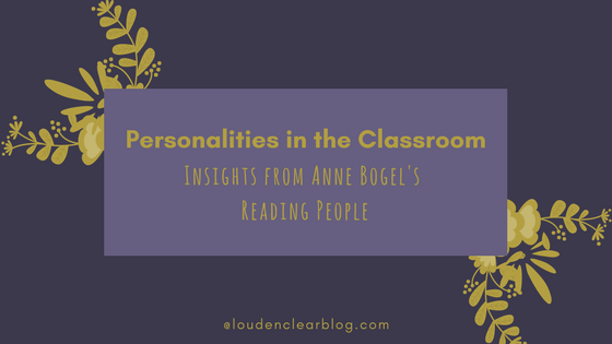 personalities in the classroom