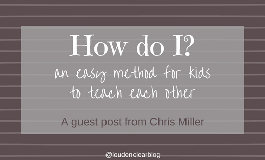 Making it easy for kids to teach