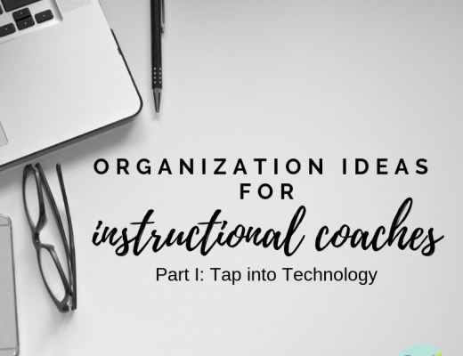 organization ideas for instructional coaches