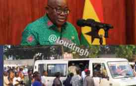 Public Transport To Stop Observing Social Distance - President Akuffo Addo