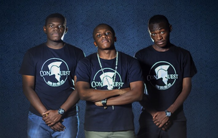 ConQuest a trio of passionate Poets/Rappers