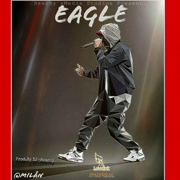 Official Eagle cover @ Loudink