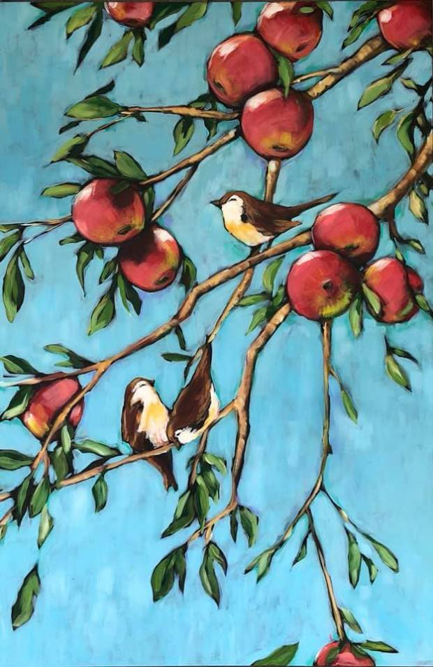 """Peck of Apples"" by Kaarin Nelson"