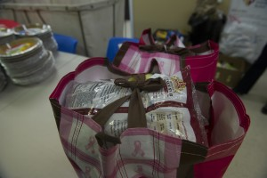 UNITED STATES - November 23, 2015: Bags packed with food for the underprivileged at Interfaith Relief in time for Thanksgiving at the head quarters in Leesburg Virginia. (Photo By Douglas Graham/Loudoun Now)