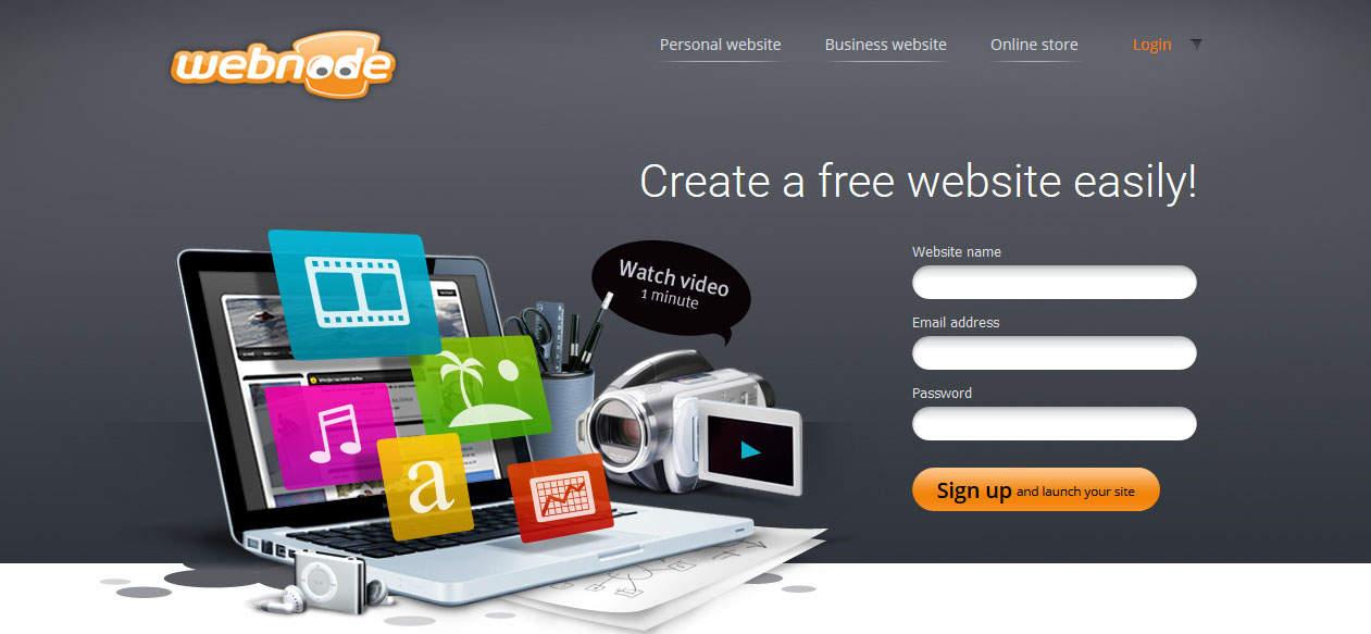 Webnode Online Free Website Builder