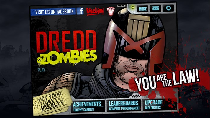 Judge Dredd vs. Zombies Game for windows phone