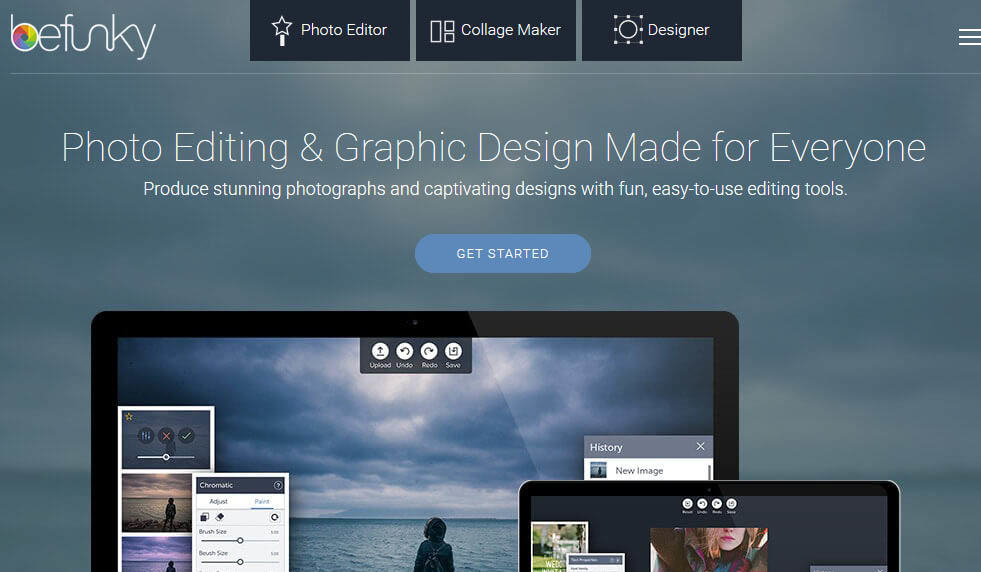 BeFunky Image creation tool