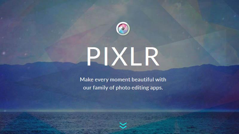 Pixlr advance Image editing tool