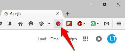 Use Pinterest's Browser Buttons