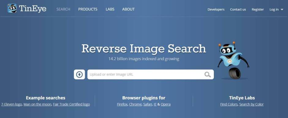 Tin Eye For Reverse Image Search