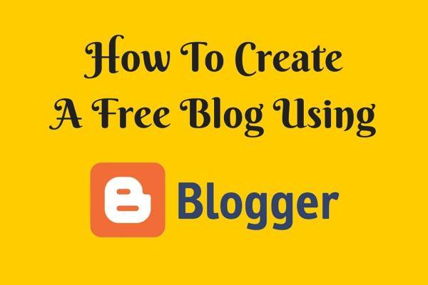 free blog creator