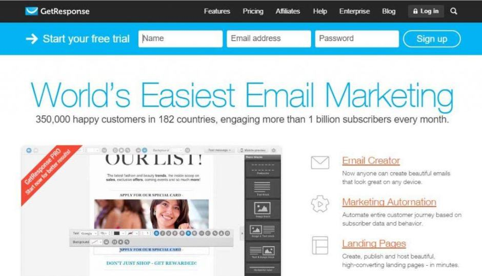 Top 5 Email Marketing Software, Tools & Services