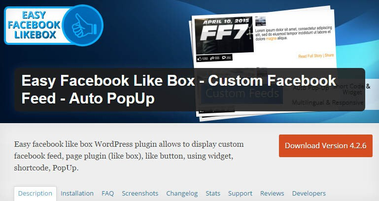 5 Facebook Popup Like Box Plugins For WordPress