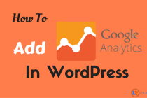 How To Add Google Analytics In WordPress Site