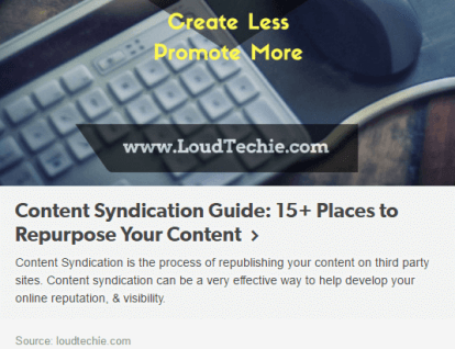 Tumblr – Squash out More Value out Of Your Content