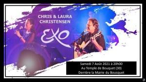 Concert Exo Chris & Laura Christensen 07-08-2021