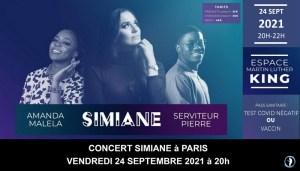 Concert Simiane Music Paris 24 Septembre 2021
