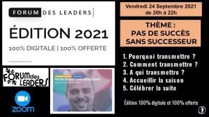 Forum des leaders 24-09-2021 Jérémie Poulet