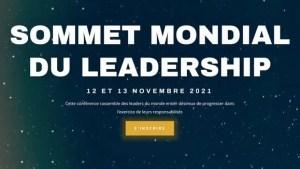 Sommet Mondial du Leadership 12 & 13 Novembre 2021