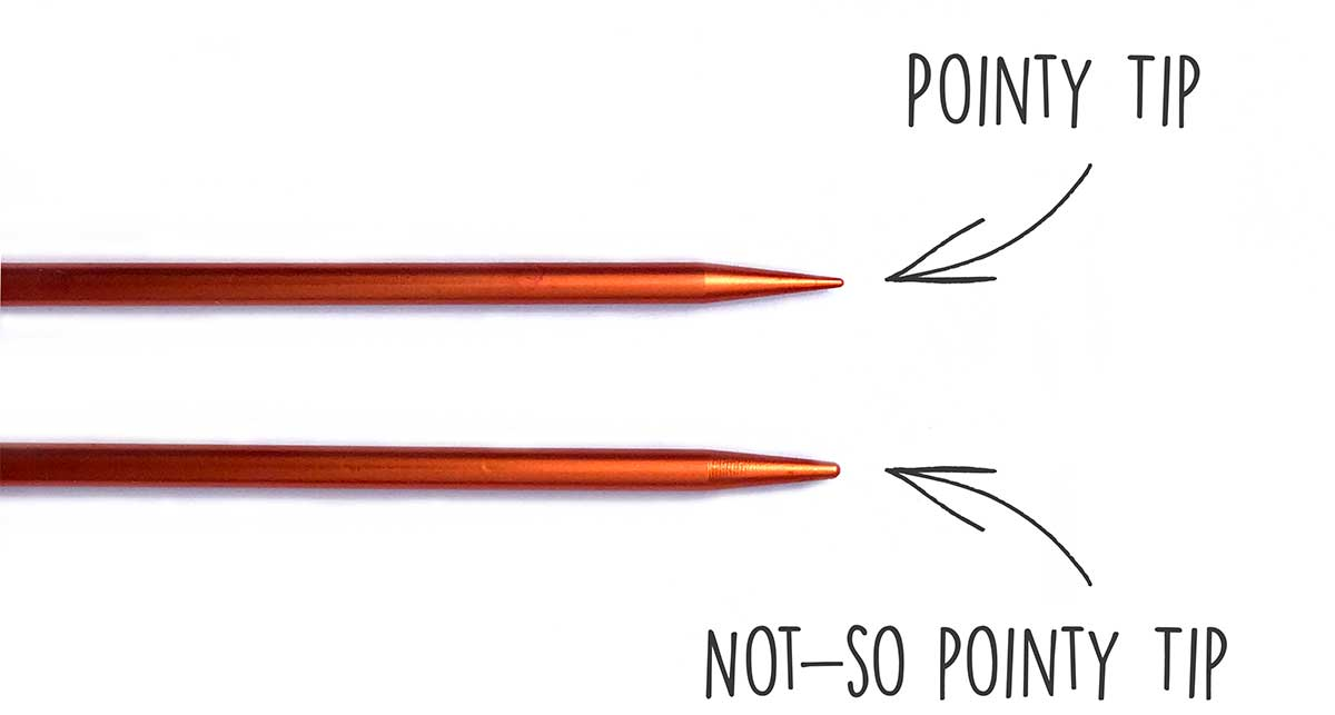 Unique multi-point needles from Louet
