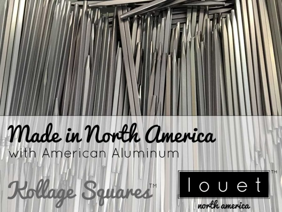 Kollage Square needles are made in North America!