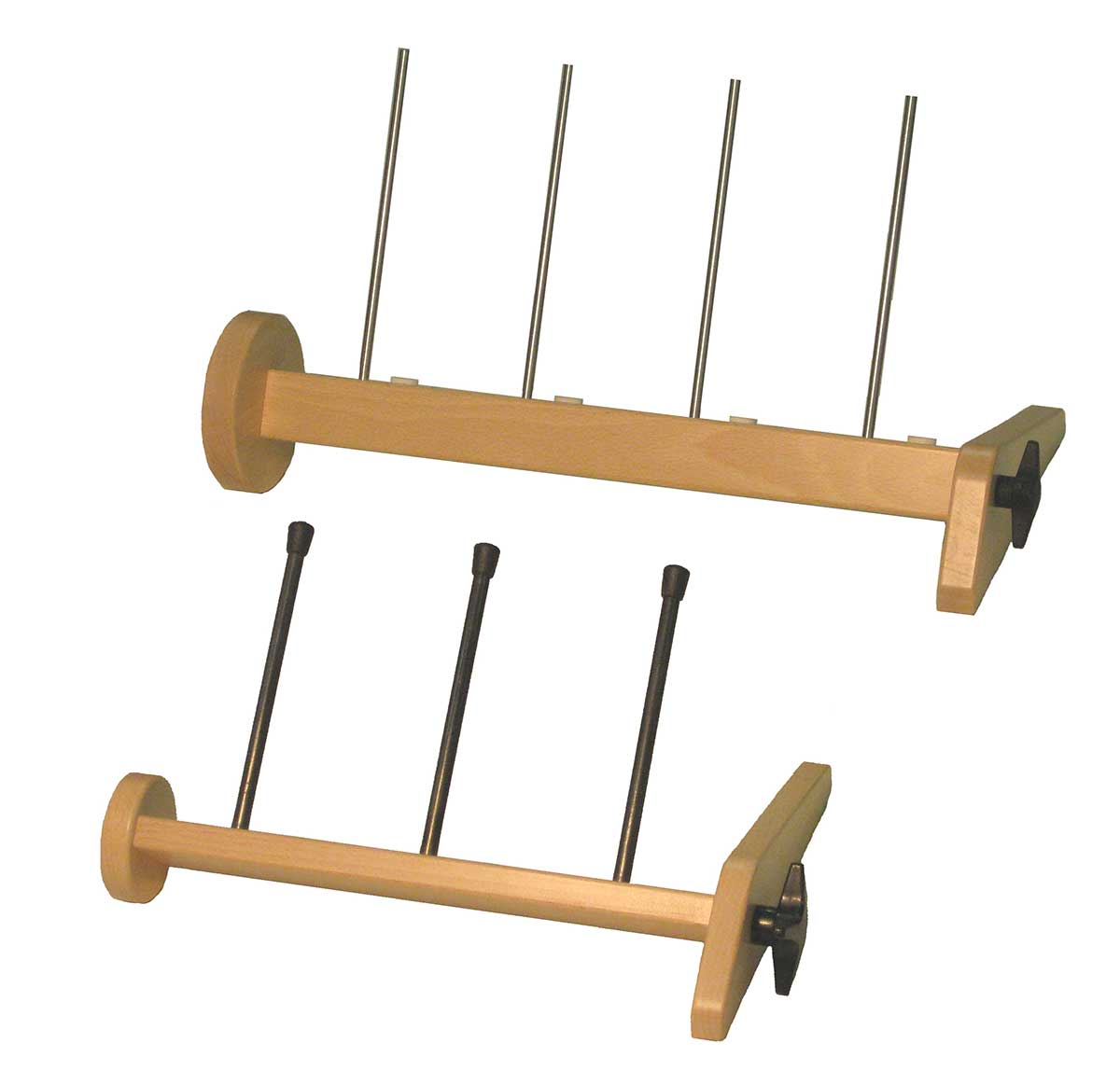 Louet Stand-alone Lazy Kate Racks for Plying yarn and holding bobbins