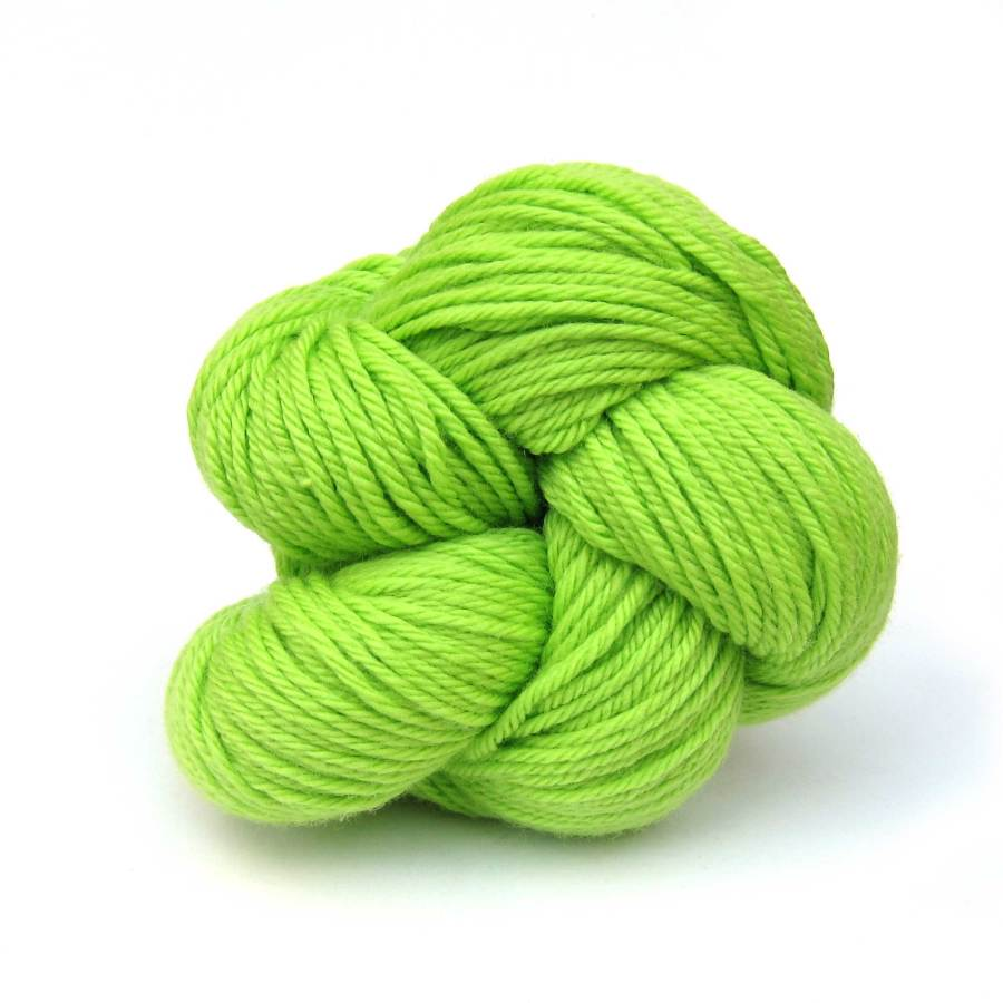 Lime Louet Gems 100% Merino Superwash Yarn