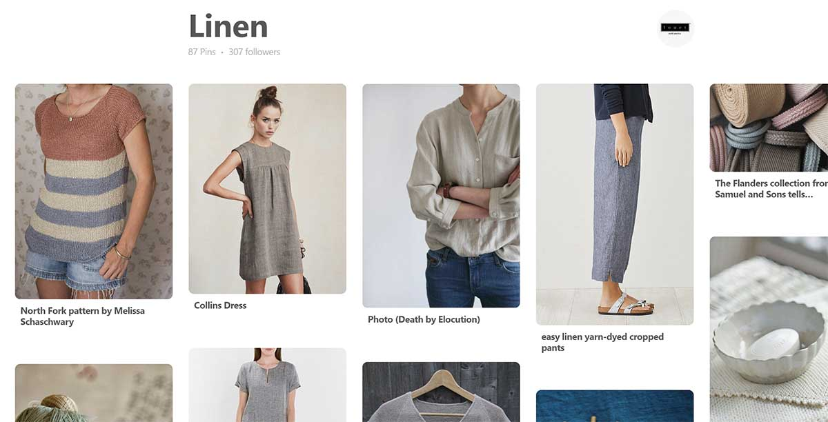 Best board for linen on pinterest
