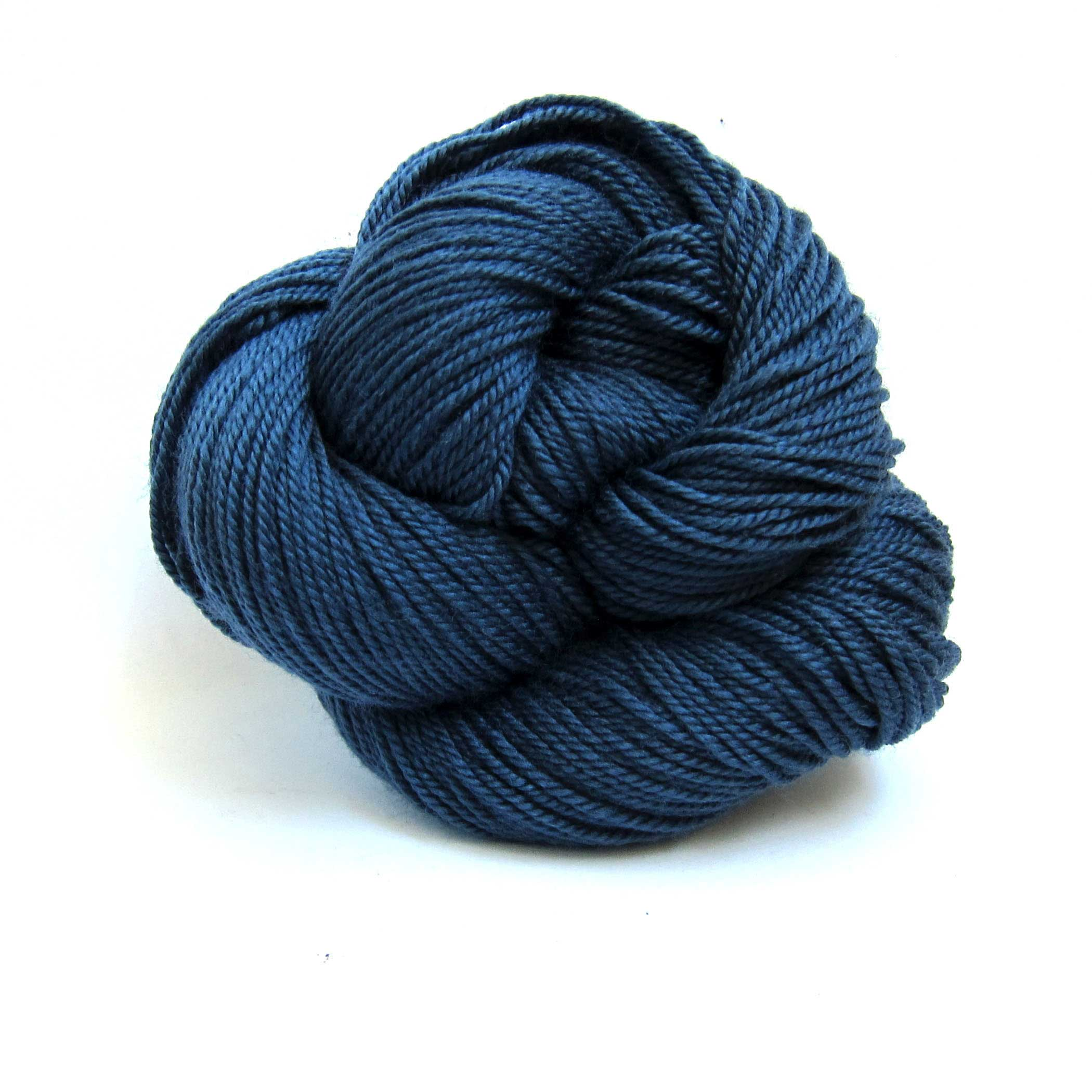 Marine Blue Louet Gems 100% Merino Superwash Yarn
