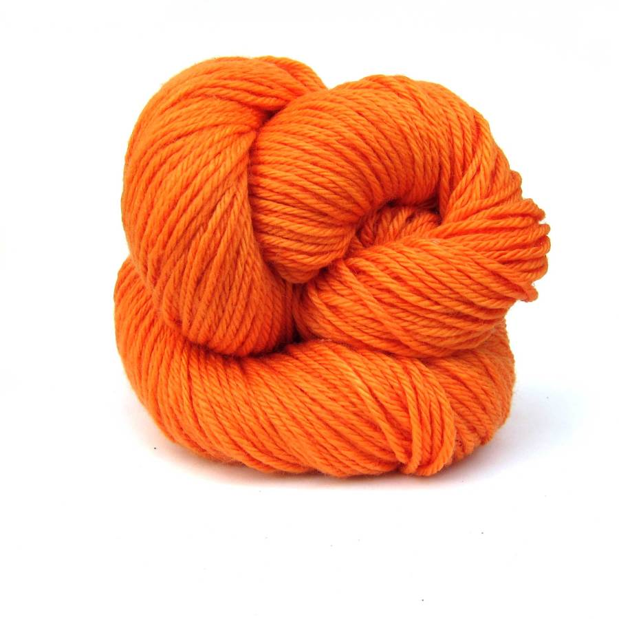 Orange Louet Gems 100% Merino Superwash Yarn