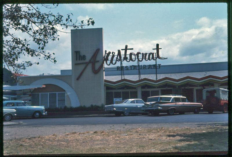 The Aristocrat restaurant, c. 1960